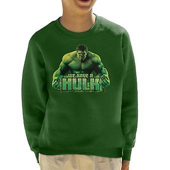 Marvel Avengers Biz Bir Hulk Kid's Sweatshirt var