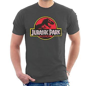 Jurassic Park klassieke logo mannen ' s T-shirt