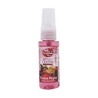Red fruit sprayer car air freshener 1 unit of 30ml (Red Berries)