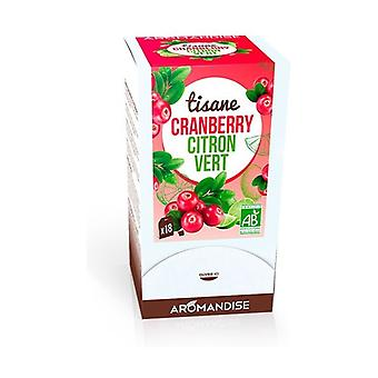 Cranberry Lemon Herbal Tea 18 packets