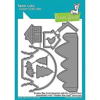 Nurmikko Fawn Shadow Box Card Mountain Add-on Kuolee