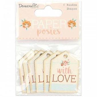 Dovecraft paperi posies puiset muodot tunnisteet