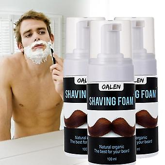 Men Shaving Foam, Salon Shave Beard Foam