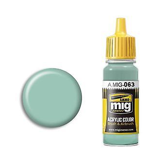 Ammo by Mig Acrylic Paint - A.MIG-0063 Pale Grey (17ml)