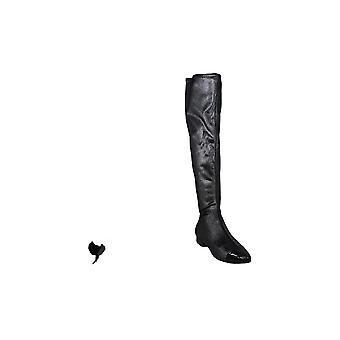 Ivanka Trump Womens Alie2 Cap Toe Knee High Fashion Boots