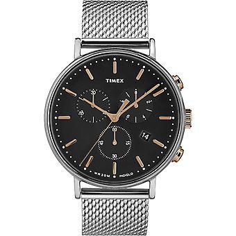 TW2T11400, Fairfield Timex Style Unisex Uhr / Schwarz