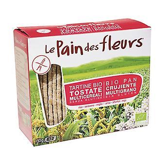 Organic Multigrain Flower Bread 150 g