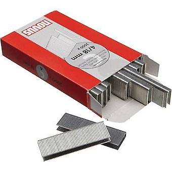 Type 4 smalle kroon nietjes 2000 PC('s) Novus 042-0594 Clip type 4/18/EG afmetingen (L x W) 18 x 6 mm