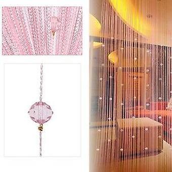 Crystal Beads, Tassel, Silk String For Curtain, Door Divider Sheer Panel