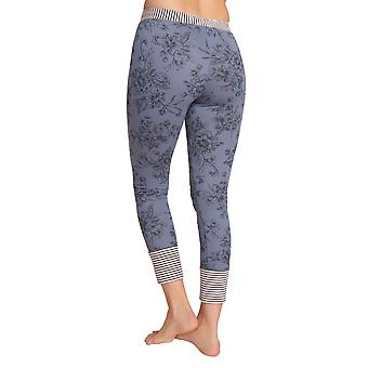 Rösch be happy! 1202130-11999 Women's Smokey Blue Print Pyjama Pant