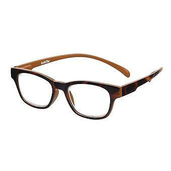 Läsglasögon Unisex Wayline-Monkey havanna brun Styrka +2,50 (le-0167F)