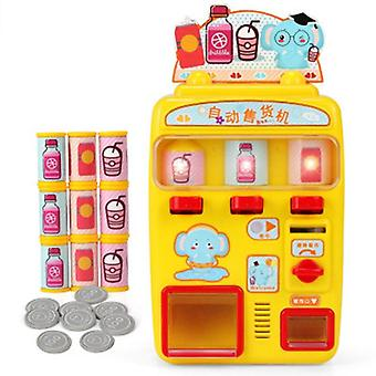 Vending Machine Simulation Shopping House Set 0-3 Years Old Baby Game- Give The