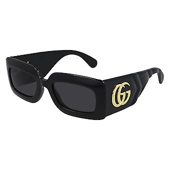 Gucci GG0811S 001 Black/Grey Sunglasses