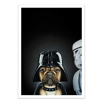 Pôster de Arte - Dog Vader - Alexandre Granger