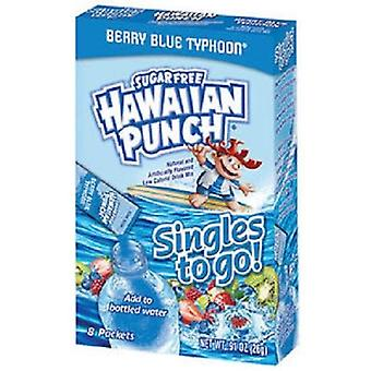 Hawaiian Punch Berry Blue Typhoon Singles to Go Sugar Free Drink Mix