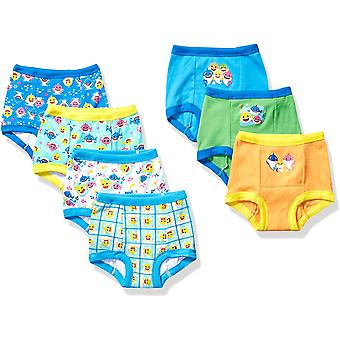 Baby Shark Boys' Toddler 7pk Potty Training Pant, 7-Pack, 2T, 7-pack, Size 2T