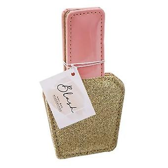 Blush Gold Glitter Manicure Kit
