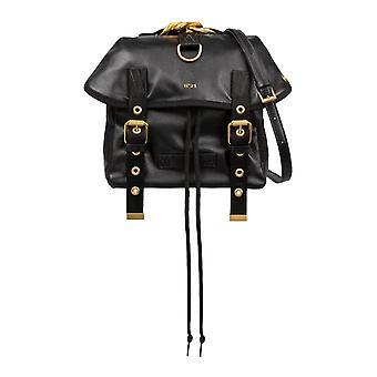 N°21 20ibm0500np00n001 Femmes's Sac à dos en cuir noir