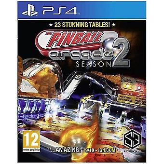 Pinball Arcade Season 2 PS4 Game