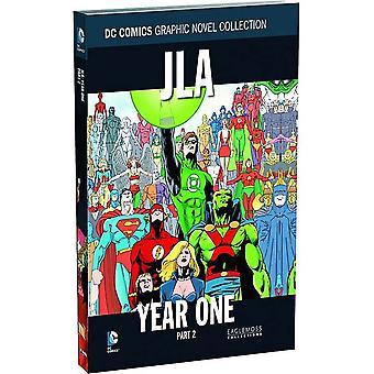 JLA: Jahr EinTeil 2 Eng Hardback Buch