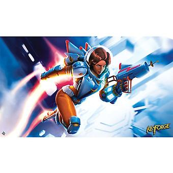 Tactical Officer Moon Playmat KeyForge
