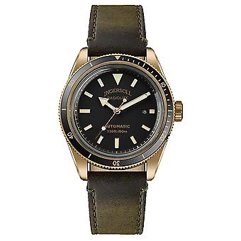 Scovill Automatic Analog Men's Watch with Cowhide Bracelet I05007