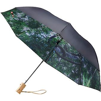 Avenue 23 Inch Forest Skies 2 Section Automatic Umbrella