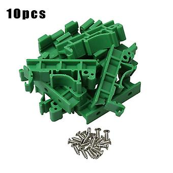 10pcs Drg-01 Pcb Rail Adapter Circuit Board Mounting Bracket Mount Holder Multi Tools Plastic Accessories
