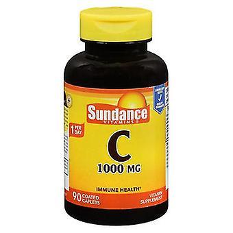Sundance Sundance Vitamin C Coated Caplets, 1000 mcg, 90 Tabs