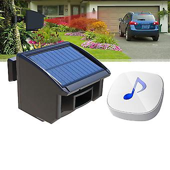 Solar Driveway Alarm System 1/4 Mile Long Range Outdoor Motion Sensor Detector