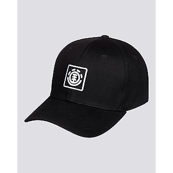 Element Boy's Snapback Cap ~ Treelogo flint black