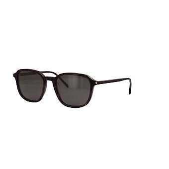 Saint Laurent SL 385 002 Havana/Grey Sunglasses