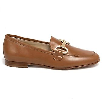 Luca Grossi Women's Moccastic In Leather With Clamp