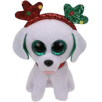 TY Key Clip - Socker hunden (jul)