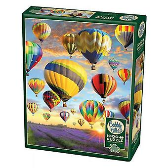 Cobble hill puzzle - hot air balloons - 1000 pc