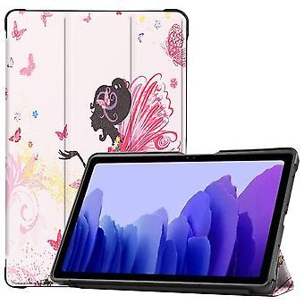 """Slim Fit Cover Voor Samsung Galaxy Tab A7 10.4"""" - Meisje"""
