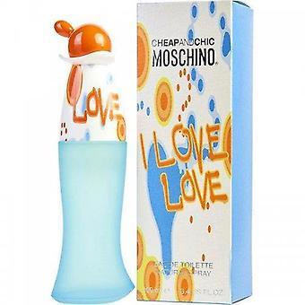 Moschino Cheap & Chic I Love Eau de toilette spray 100 ml