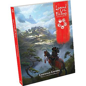 Legend of The Five Rings RPG Emerald Empire Bron Boek