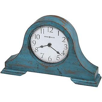 Howard Miller Tamson Mantel Clock - Worn Teal