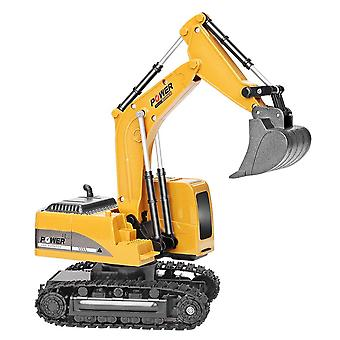 Rc Engineering Car Alloy And Plastic Rtr Excavator Christmas (rc Excavator Toy)