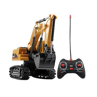 Rc Camioane Mini De control de la distanță Buldozer, Plastic Engineering Car, Dump Truck,