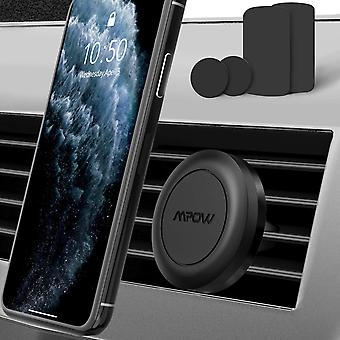 Mpow car phone holder, 【2 packs】 magnetic car holder, universal air vent car phone mount for iph