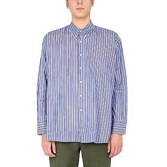 Our Legacy M4202bbms Men's Light Blue Cotton Shirt