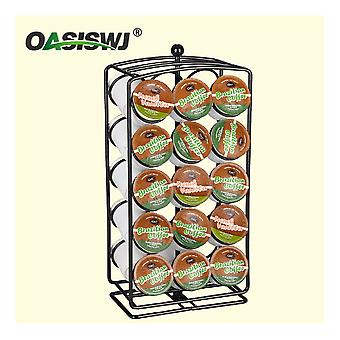 Docle Gusto Keurig Revolving Rotating Capsule Coffee Pods Holder Tower Stand Rack 30 Pods