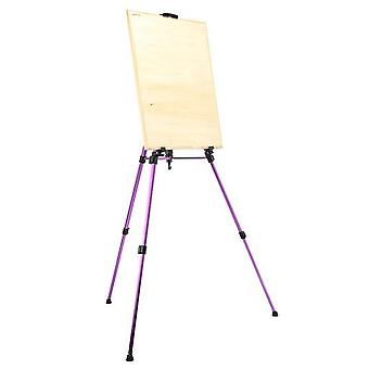 Colored Easel Alloy Folding Painting Easel Frame Artist Adjustable Tripod