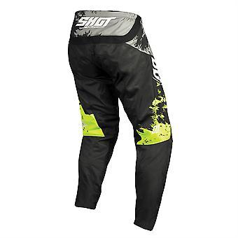 2020 Shot Contact MX Pants Adult - Shadow Grey Neon Yellow
