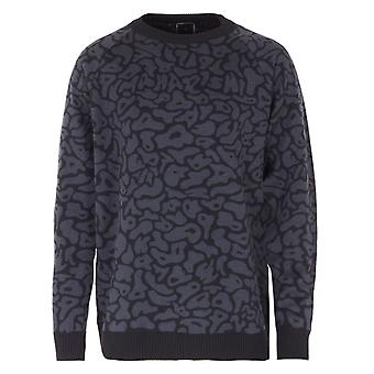 Maharishi Camo Knitted Sweater - Black