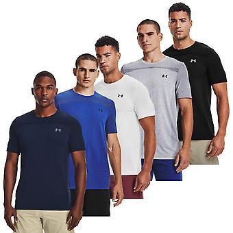 Under Armour Mens 2021 Naadloze 4-weg stretch wicking korte mouw T-shirt
