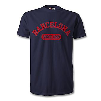Barcelona 1899 Established Football T-Shirt