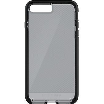 Tech21 Evo Check Case for iPhone 8 Plus, 7 Plus - Smokey/Black